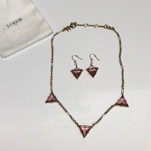 Jewelry - J Crew necklace and earrings set